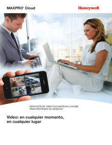 MAXPRO® Cloud Video - Honeywell Video Systems