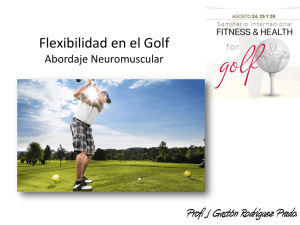 Presentación de PowerPoint - Fitness and Health For Golf