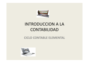 ciclo contable elemental