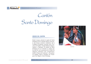 Cantón Santo Domingo de los Colorados