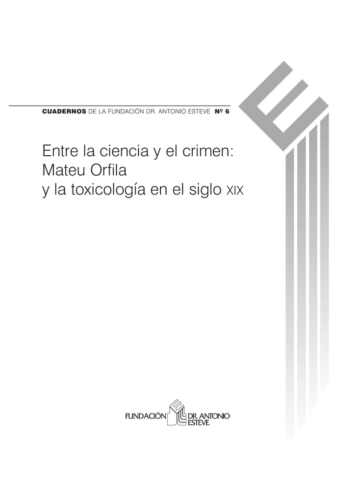 Portada-Cuadernos ESTEVE n6.qxp