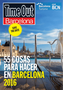 Save the date Barcelona 2016