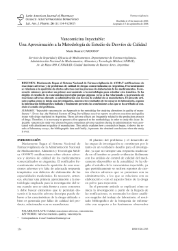 134-139 Cardoso - Latin American Journal of Pharmacy