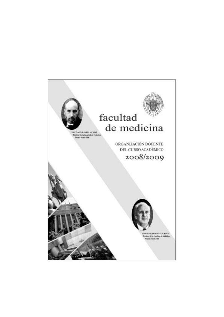 2008/09 - Universidad Complutense de Madrid