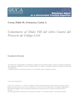 El derecho real de superficie en el nuevo Código Civil y Comercial