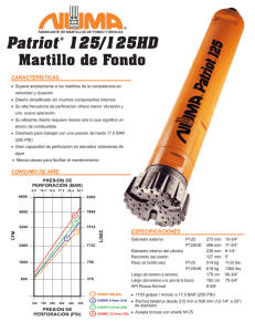Patriot 125/125HD Brochure Spanish