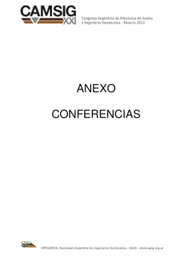 ANEXO CONFERENCIAS