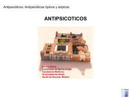 Antipsicóticos - Universidad de Alcalá