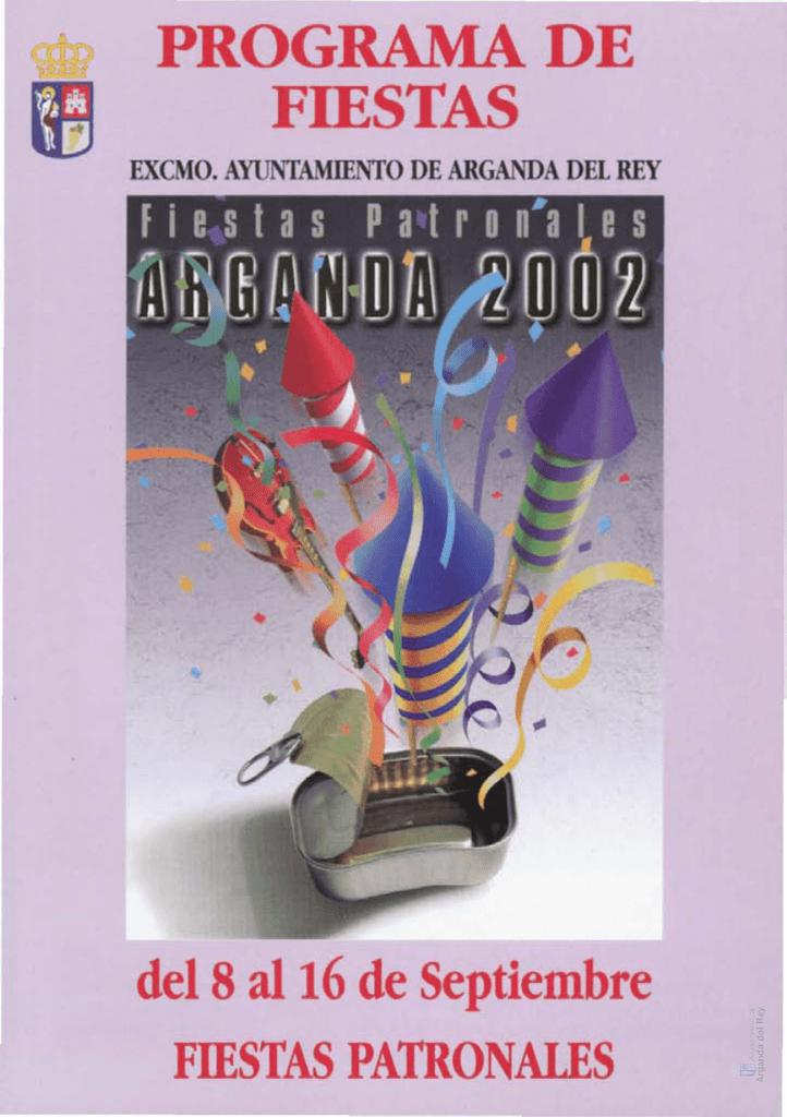 programación cultural - Archivo de la Ciudad de Arganda del Rey