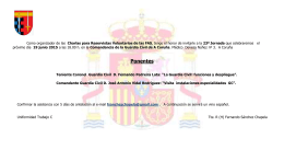 """La Guardia Civil: funciones y despliegue""."
