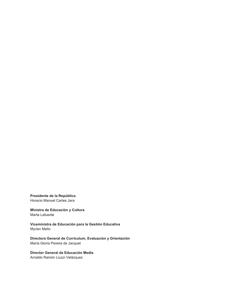 Literatura 3 completo - Ministerio de Educación y Cultura