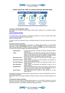 manual basico del panel de control web host manager (whm)