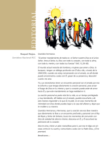 Editorial - Revista Pentecostes