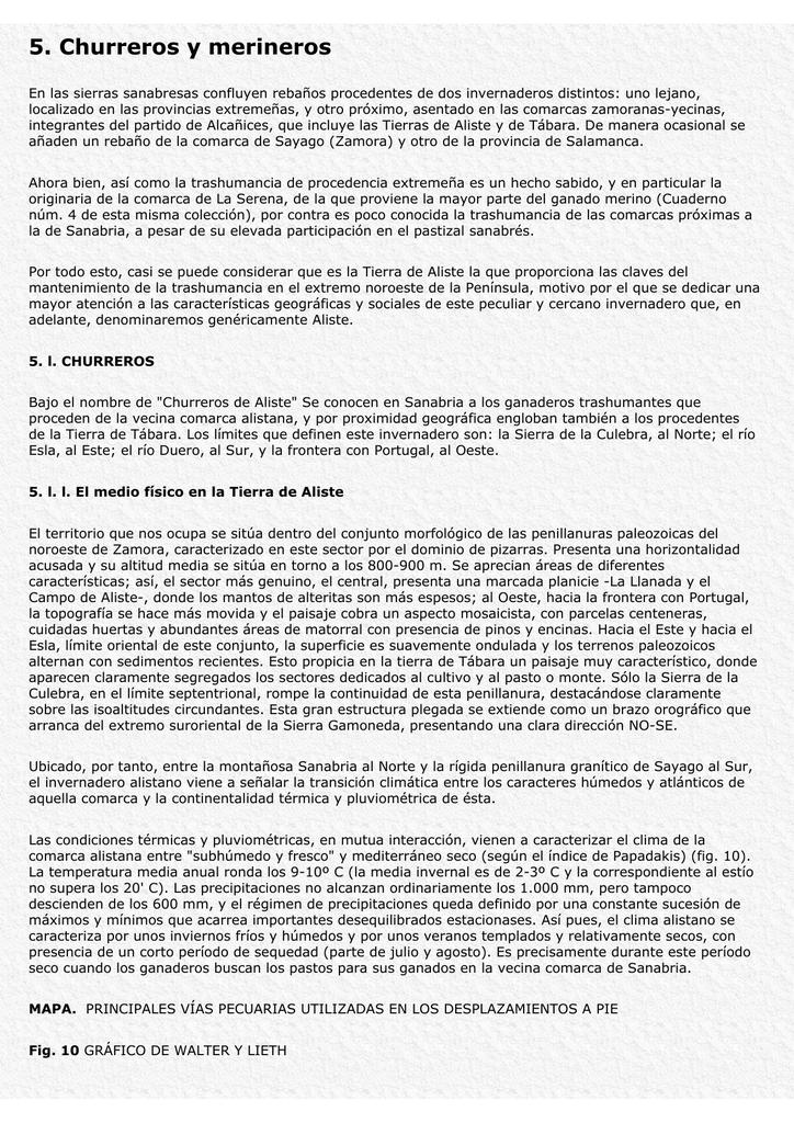 5. Churreros y merineros - Ministerio de Agricultura, Alimentación y