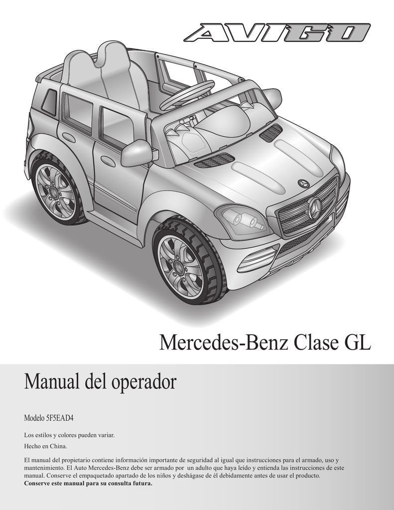 Manual Del Operador Mercedes