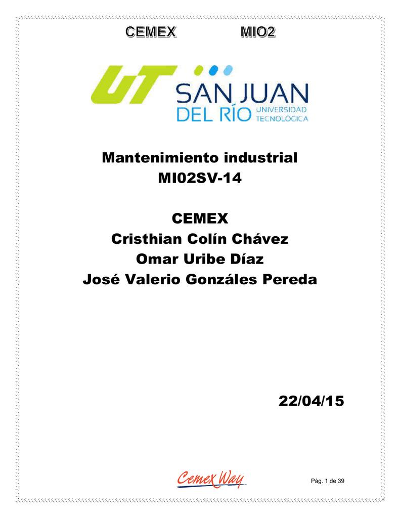 Mantenimiento industrial MI02SV