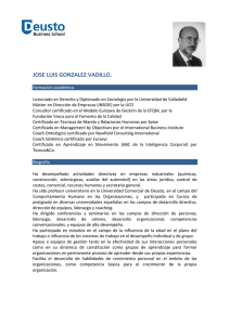 Curriculum Vitae - PDF - Deusto Business School