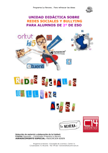 REDES SOCIALES - BULLYING 2º ESO