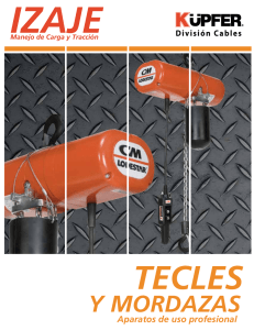 Catalogo Tecles Manuales y electricos