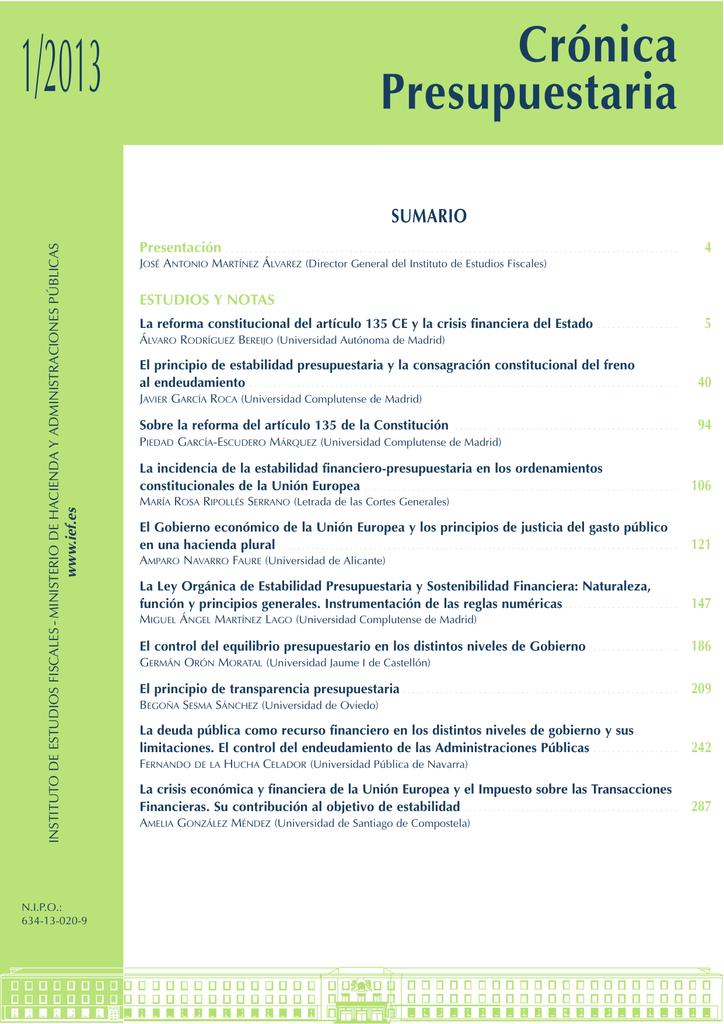 Calendario Escolar Granada 2020 19.Cronica Presupuestaria Ministerio De La Presidencia