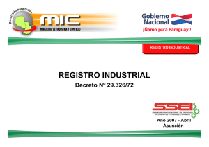 registro industrial