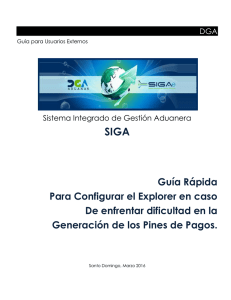 DGA – Manual de Usuario Externo
