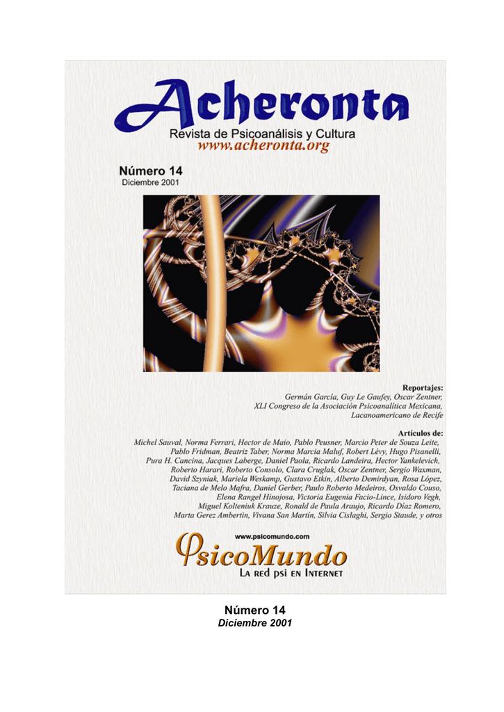 Acheronta Número 14