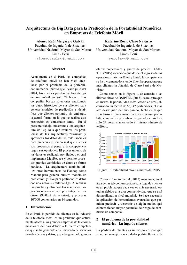 b0328c6053d Arquitectura de Big Data para la Predicción de la - CEUR