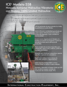ICE® Modelo 55B - International Construction Equipment, Inc