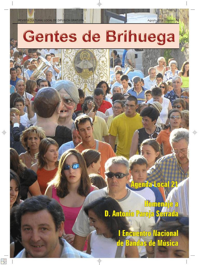 Revista Gentes de Brihuega número 10 (agosto 2007)