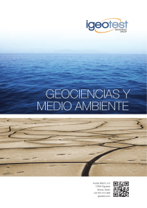 geociencias y medio ambiente