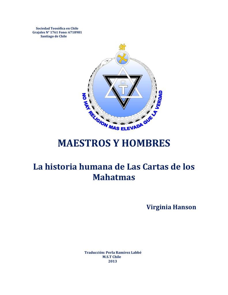 Maestros y hombres - RAMA ARJUNA (Barcelona)