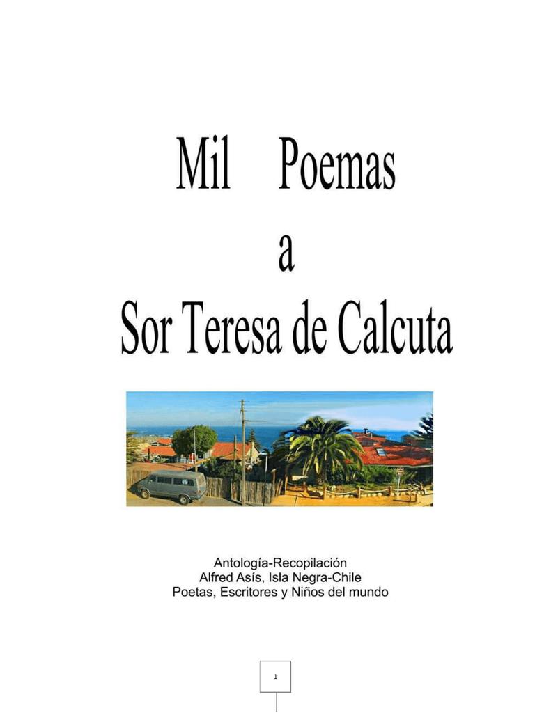Mil Poemas A Sor Teresa De Calcuta