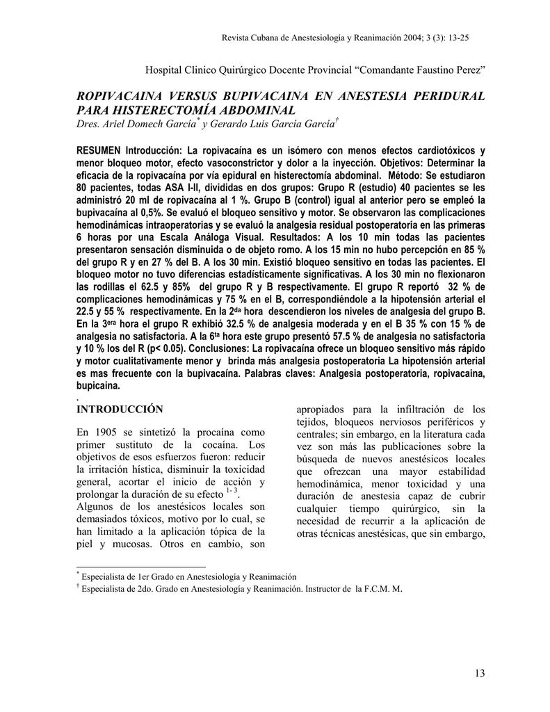 histerectomia efectos secundarios pdf