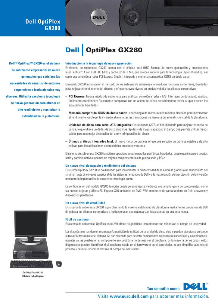 DELL OPTIPLEX GX280 INTEL CHIPSET WINDOWS 8.1 DRIVER DOWNLOAD