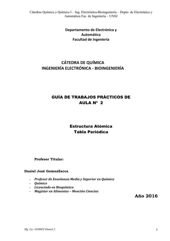 Tabla periodica departamento de electrnica y automtica urtaz Image collections