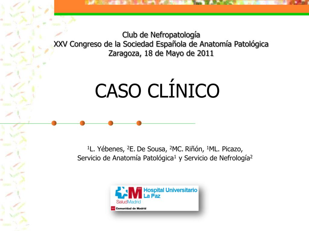caso clínico - XXV Congreso de la Sociedad Española de Anatomía
