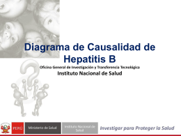 Diagrama de Causalidad de Hepatitis B