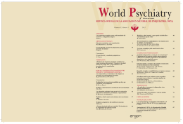 Religión y psiquiatría - World Psychiatric Association