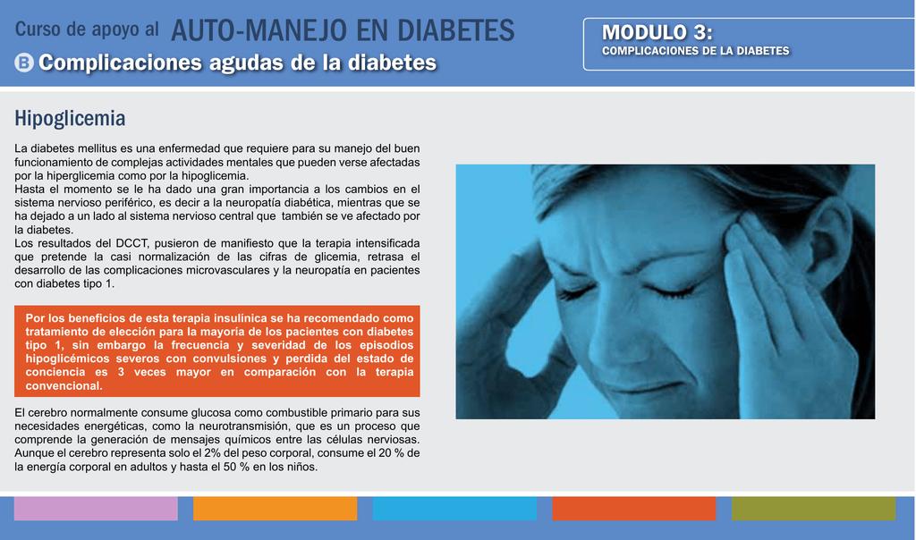 diabetes tipo 1 hipoglucemia provoca convulsiones
