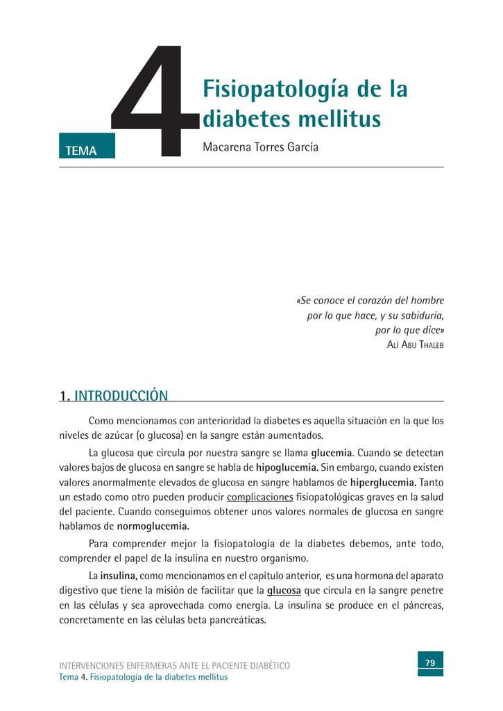 temas para exponer con diabetes diapositivas