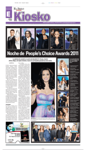 Noche de People`s Choice Awards 2011