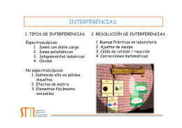 INTERFERENCIAS