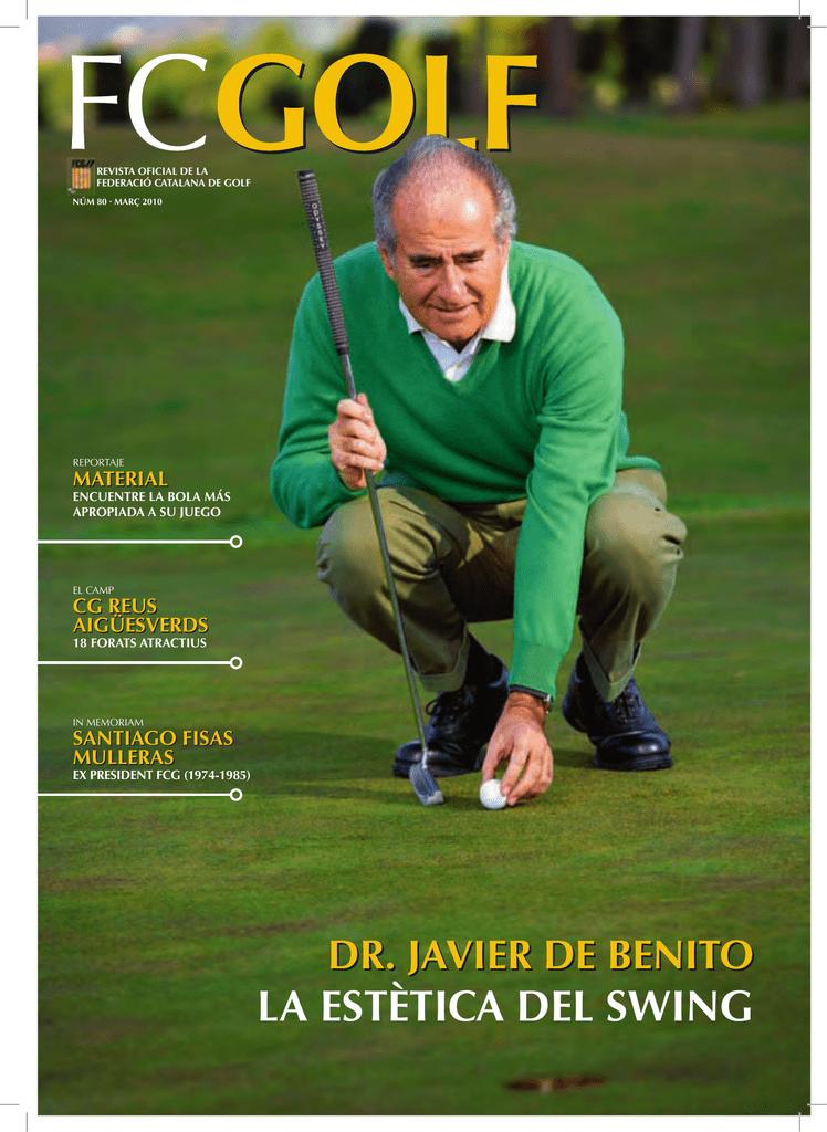 LA ESTÈTICA DEL SWING - Federación Catalana de Golf
