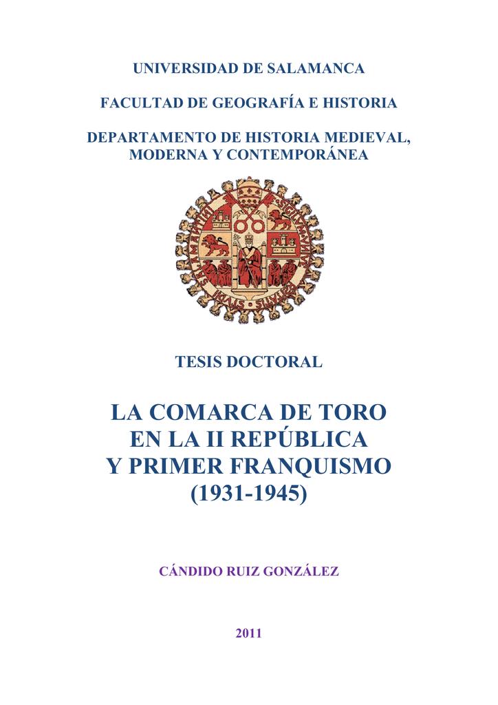 E Y República Comarca La Quismo De Fra Primer Ii Toro BhxQCrdts