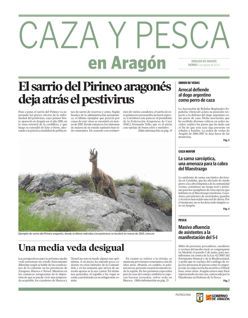 En Aragón Federación Aragonesa De Caza