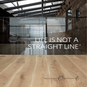 LIFE IS NOT A STRAIGHT LINE®