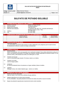 sulfato de potasio soluble