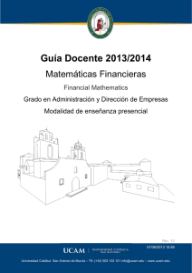 Matemáticas Financieras
