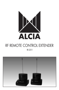 rf remote control extender